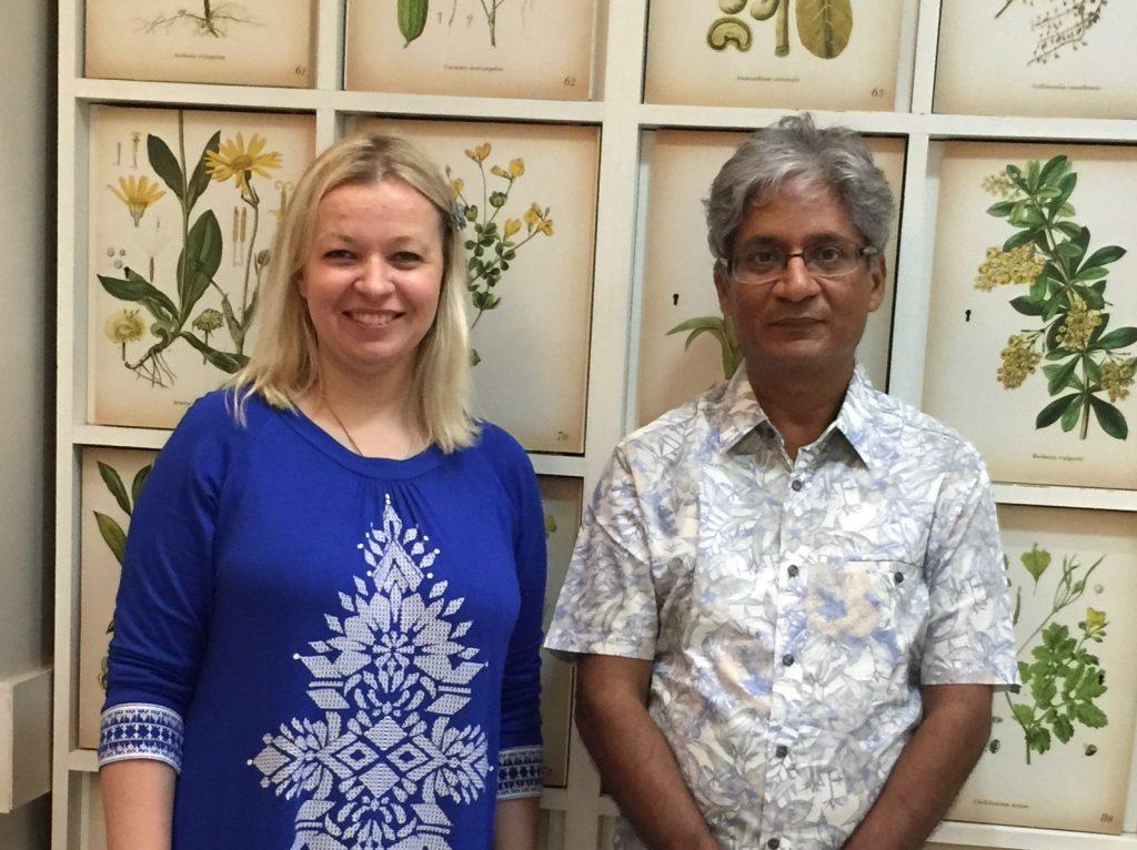 Dr Sankaran i Ana Safran